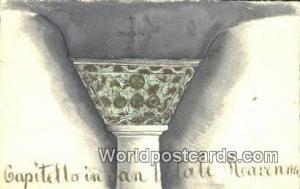 France, Carte, Postcard Capitello in Jan Liltale Reavenna  Capitello in Jan L...