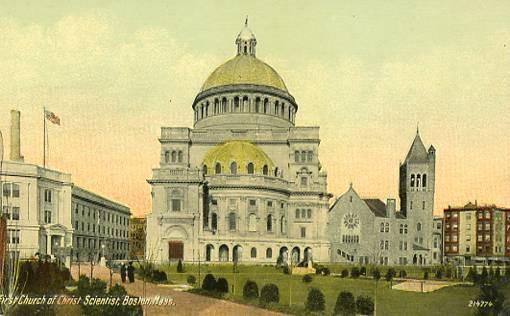MA - Boston. First Church of Christ Scientist