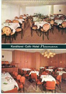 Konditorei, Café, Hotel, Neumann, Herrenberg, unused Postcard