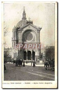 Paris - 8 - St. Augustine Church - Collection Diary - Old Postcard
