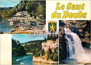 Modern Postcard Le Saut du Doubs