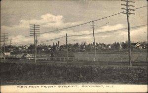 Keyport NJ From Front St. c1910 Postcard