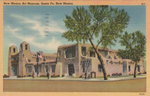 SANTA FE, New Mexico, PU-1946 ; New Mexico Art Museum