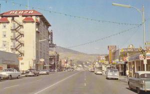 Main Street , KAMLOOPS , B.C. , Canada , 40-60s