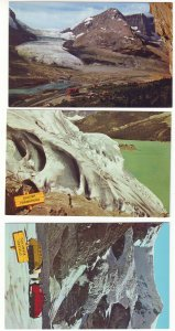 P1486 3 vintage canada rockies cloumbia icefields views
