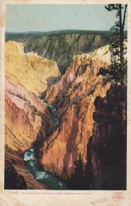 The Yellowstone Canyon from Inspiration Point, Yellowstone, Wyoming,00-10s