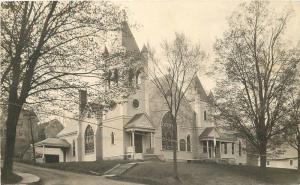 Church Call Studio C-1910 DEXTER MAINE RPPC real photo postcard 2735