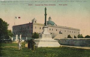israel palestine, HAIFA, Mont Carmel, Couvent des Péres Déchausses (1910s)