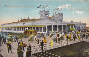 New Jersey Atlantic City The New Steepie Chase Pier Th Funny Place 1913