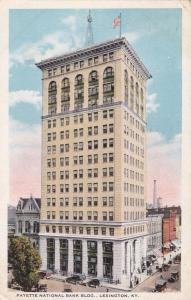 Fayette National Bank , LEXINGTON , Kentucky , PU-1924