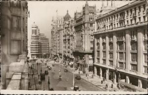 Madrid avenida Jose Antonio grand avenue Spain