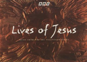 Lives Of Jesus BBC Advertising TV Series Rare CD Launch Postcard