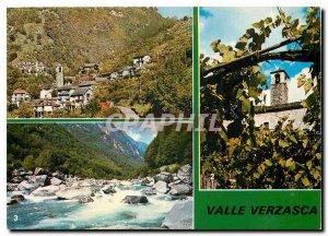 Postcard Modern Verzasca S Bartolomeo