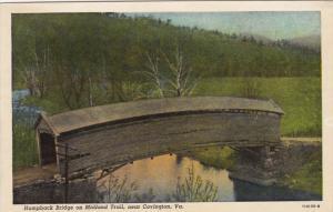 Humpback Bridge on Midland Trail, near COVINGTON, Virginia, 10-20s