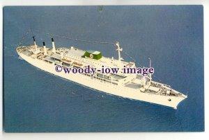 LS0002 - American Moore-McCormack Line Liner - Argentina or Brasil - postcard