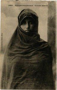 CPA Fortier 1060 Afrique Occidentale- Femme Maure SENEGAL (812036)