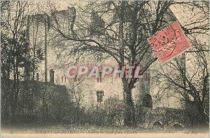 Old Postcard Nogent Rotrou Chateau Saint John The entrance