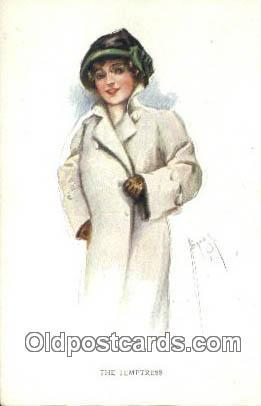 Artist Court Barber Signed Artist 1918