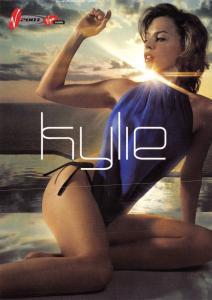Kylie Minogue Postcard V2001 Promotional Card Virgin 2001 Festival Y33