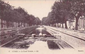 France Nimes Le Canal Romain