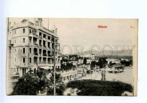 192754 Croatia Opatija ABBAZIA Hotel Vintage postcard