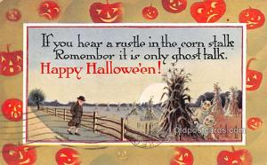 Halloween Post Card Old Vintage Antique Gibson Art Co. 1913