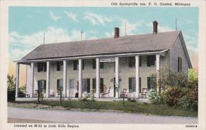Michigan Onsted Old Springville Inn Irish Hills Region Curteich