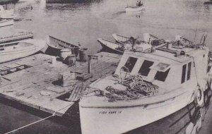 Maine South Bristol Fishing Boats Albertype