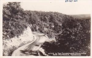 Tennessee Monteagle U S 41 In The Cumberland Mountains 1948