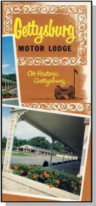 Classic Gettysburg Motor Lodge Brochure, Gettysburg, Penn/PA