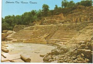 Sebastia, The Roman Theatre, unused Postcard