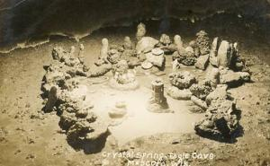 WI - Muscoda, Crystal Spring, Eagle Cave   RPPC