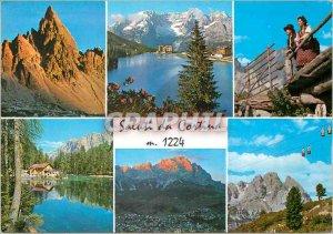 Postcard Modern Saluti da Cortina