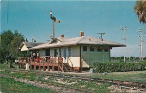 San Antonio Florida~Trilby San Antonio & Cypress Railroad Station~1970s