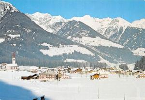Italy Val Aurina Lutago 971 m Ahrntal Luttach, winter, hiver