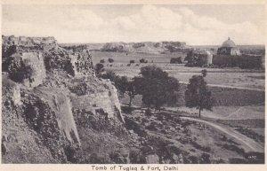 DELHI, India, 1930-1950s; Tomb Of Tuglaq & Fort