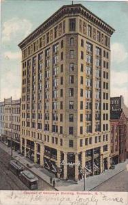 New York Rockester Chamber Of Commerce Building 1907