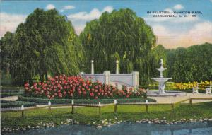 In Beautiful Hampton Park, CHARLESTON, South Carolina, 1930-1940s