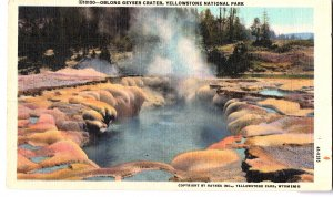 10100-Oblong Geyser Crater, Yellowstone National Park