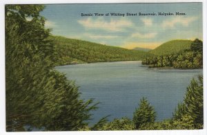 Holyoke, Mass, Scenic View of Whiting Street Reservoir