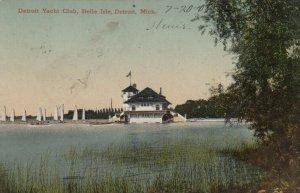 DETROIT , Michigan, 1908 ; Yacht Club