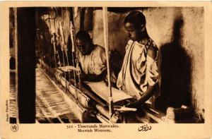 CPA Flandrin 511 Tisserands Marocains MAROC (796031)