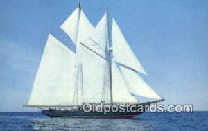 The Bluenose II, Lunenburg, Nova Scotia Sail Boat Postcard Post Card Unused