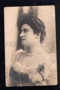 029376 Suzanne MUNTE Opera Star Old Photo REUTLINGER