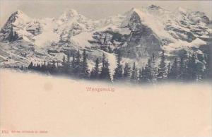 Switzerland Wengeralp