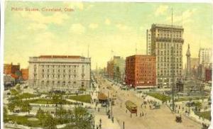 Public Square, Cleveland, Ohio, PU-1909