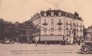 Hotel Morot et de Geneve Dijon France Old Postcard