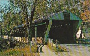 Ohio Newton Falls Only Remaining Covered Bridge In Trumbull County
