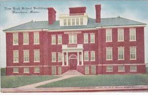 Massachusetts Wareham New High School Building