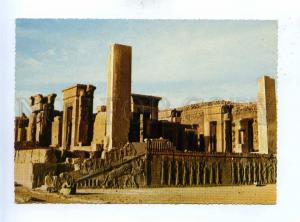 192889 IRAN PERSEPOLIS SHIRAZ old photo postcard w/ stamp